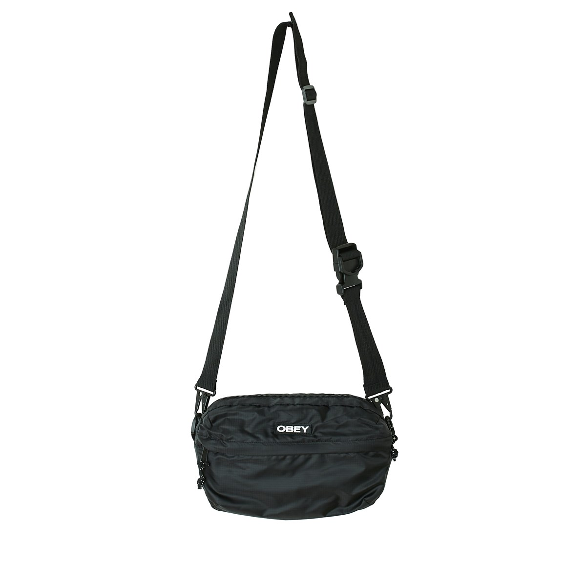 Commuter Traveler Cross-Body Bag in Black