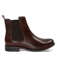 Women's Clara Ankle Boots in Dark Brown