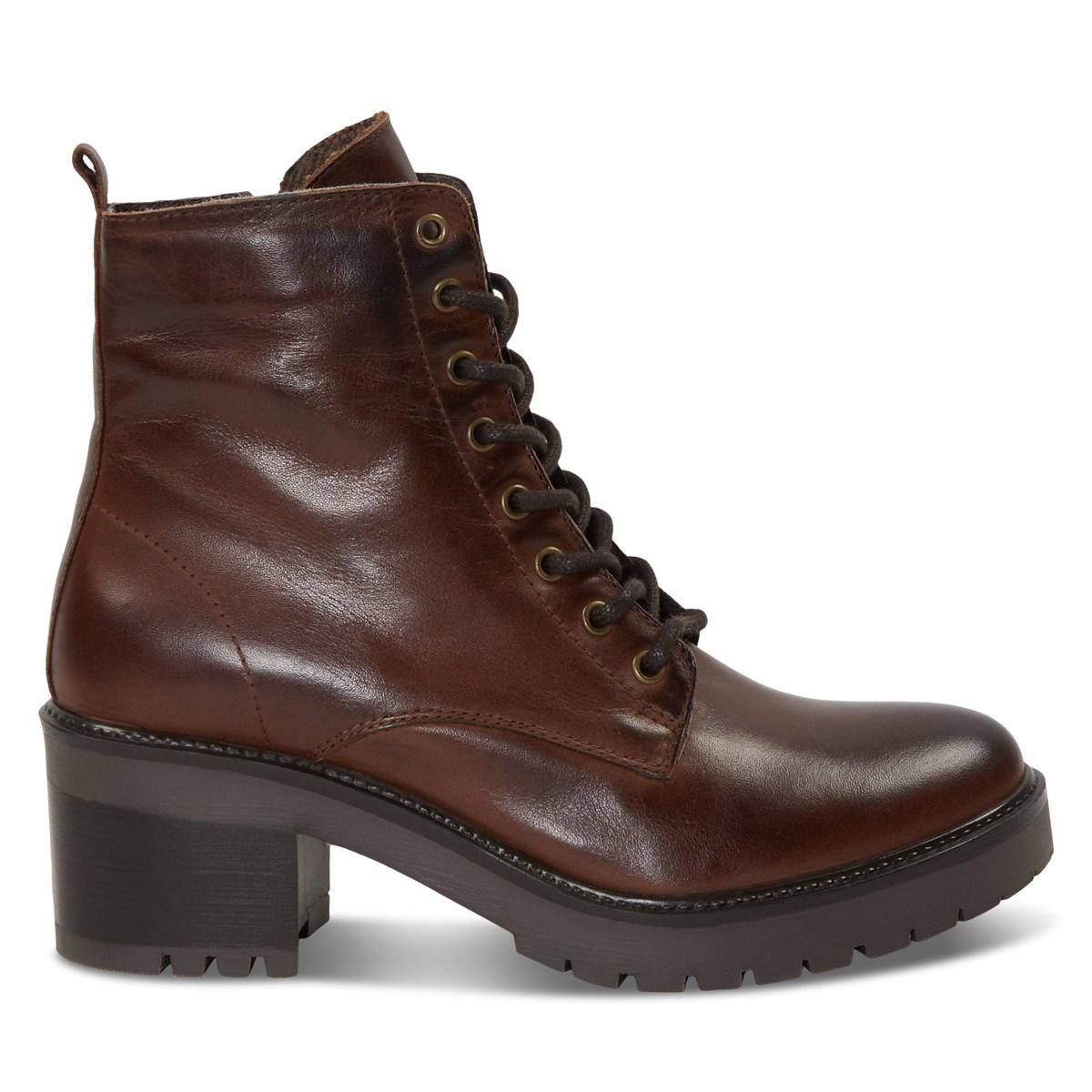 Women's Yasmine Ankle Boots in Dark Brown