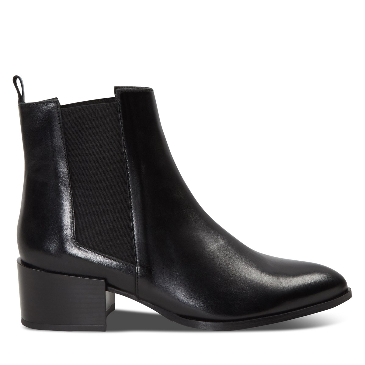 Women's Marnie Slip On Ankle Boots in Black