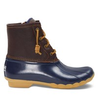 Women's Saltwater Duck Boots in Tan/Navy