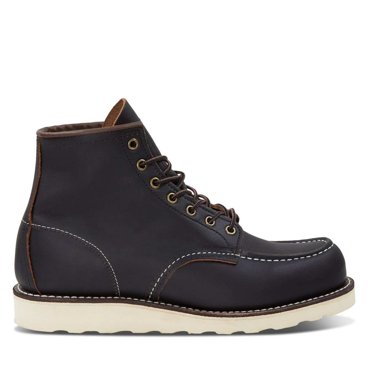 Men's 6-Inch Classic Moc Boots in Black