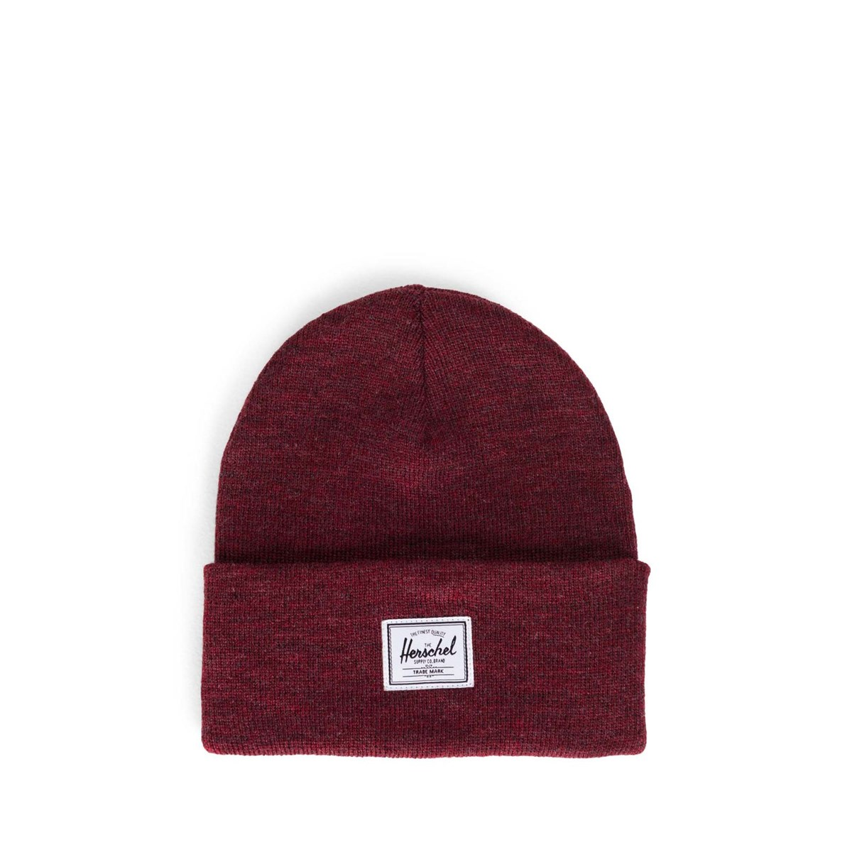Elmer Beanie in Dark Red