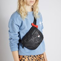 Fifteen Hello Kitty Hip Pack in Black