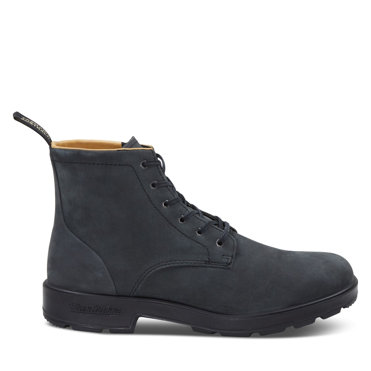 Men's 1936 Lace-Up Boots in Rustic Black