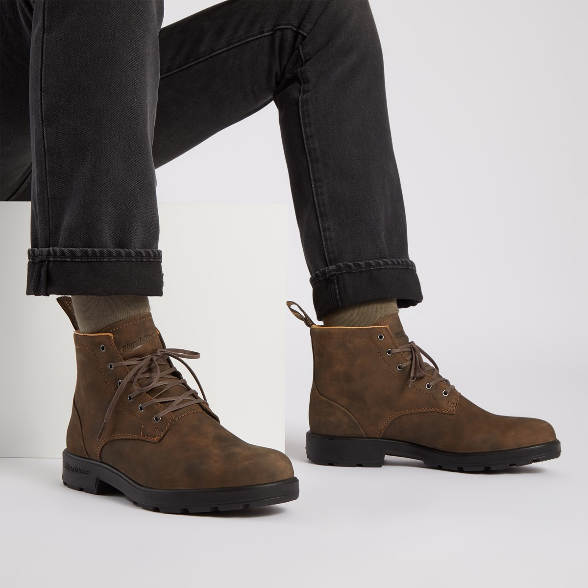 Men's 1937 Lace-Up Boots in Rustic