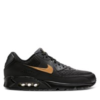 Men's Air Max 90 Sneakers in Black and Gold