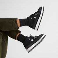 Women's One Star Frosted Dimensi Sneaker Boots in Black