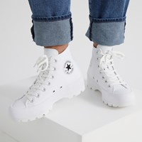 Baskets Chuck Taylor Hi Lugged blanches pour femmes