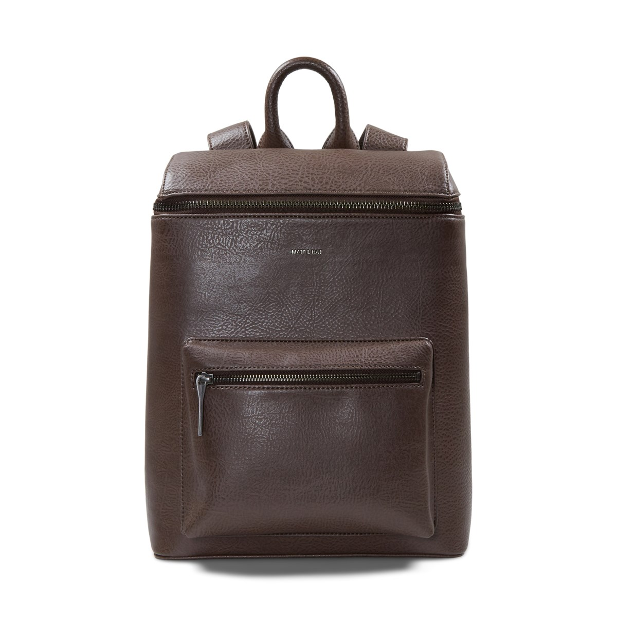 Oshie Vegan Backpack in Brown