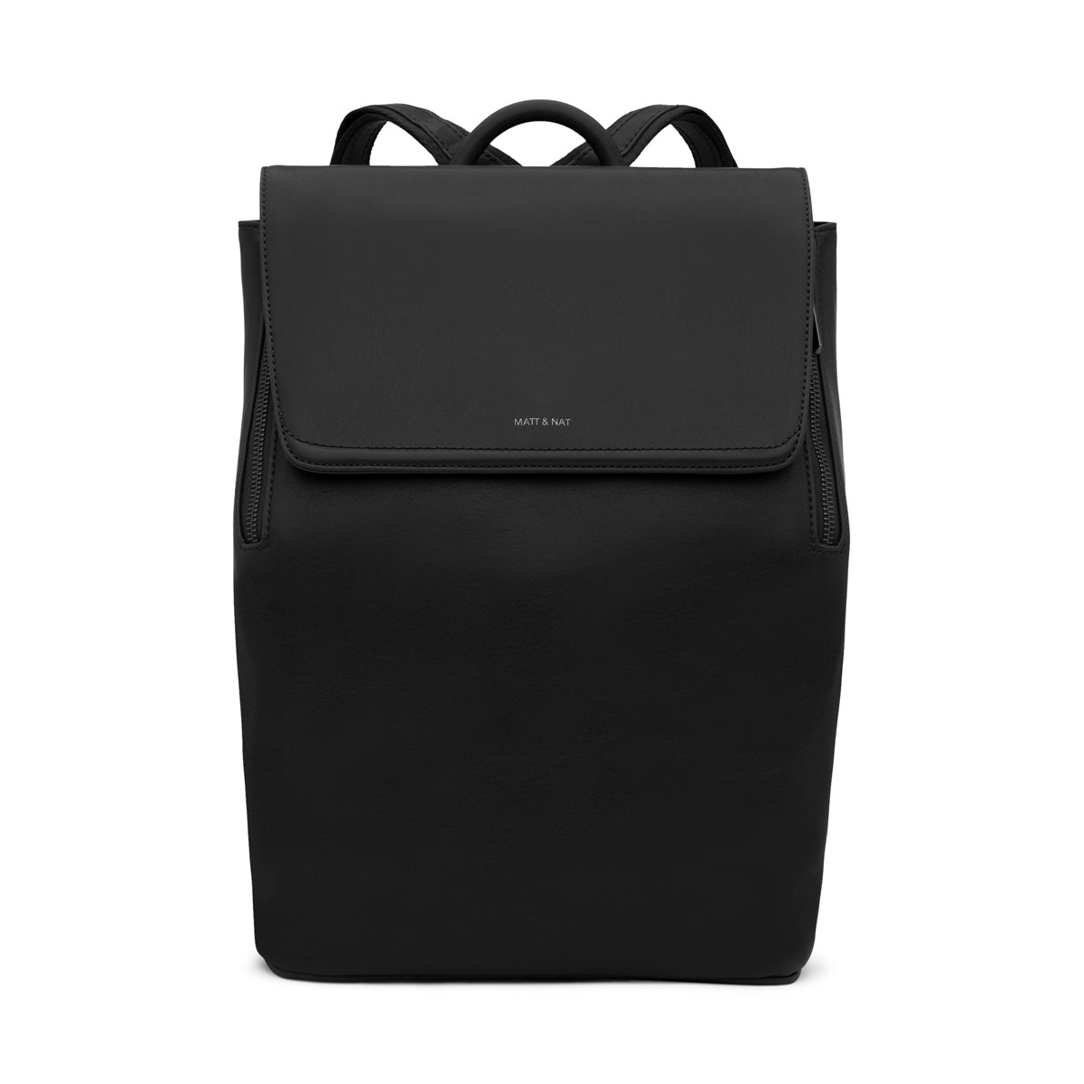 Fabi Vegan Backpack in Black