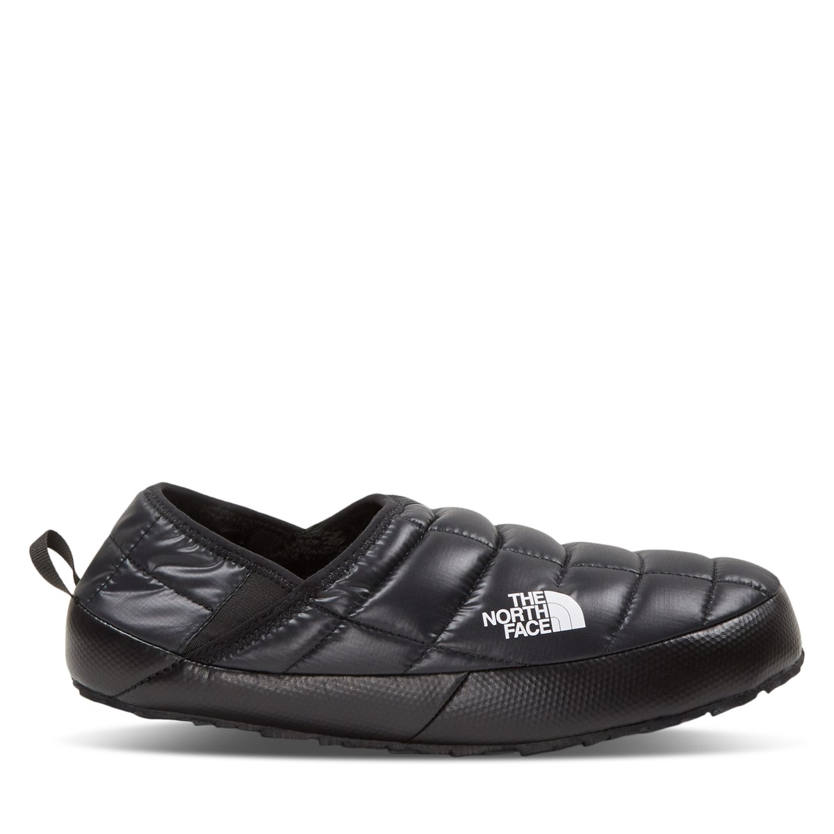Women's Thermoball Traction Mule IV Slip Ons in Black