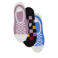 Women's 3 Pair Pack of Multicheck Canoodle Socks