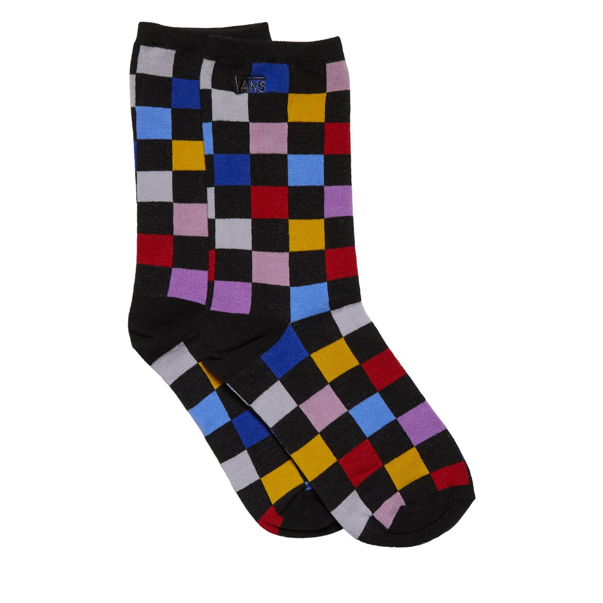 Women's Multicheck Ticker Socks