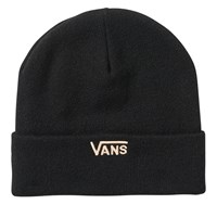 Breast Cancer Awareness Beanie in Black