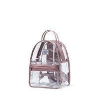 Nova Mini Clear Backpack in Rose