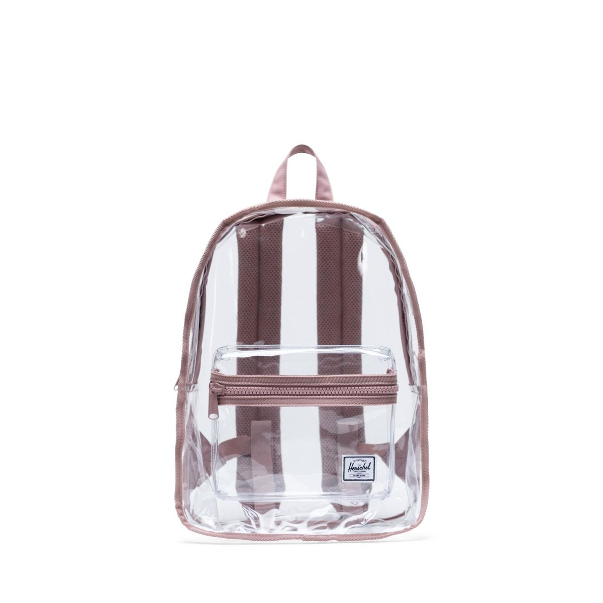 Classic Mid Clear Backpack in Rose