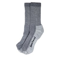 Hike Medium Crew Socks in Grey
