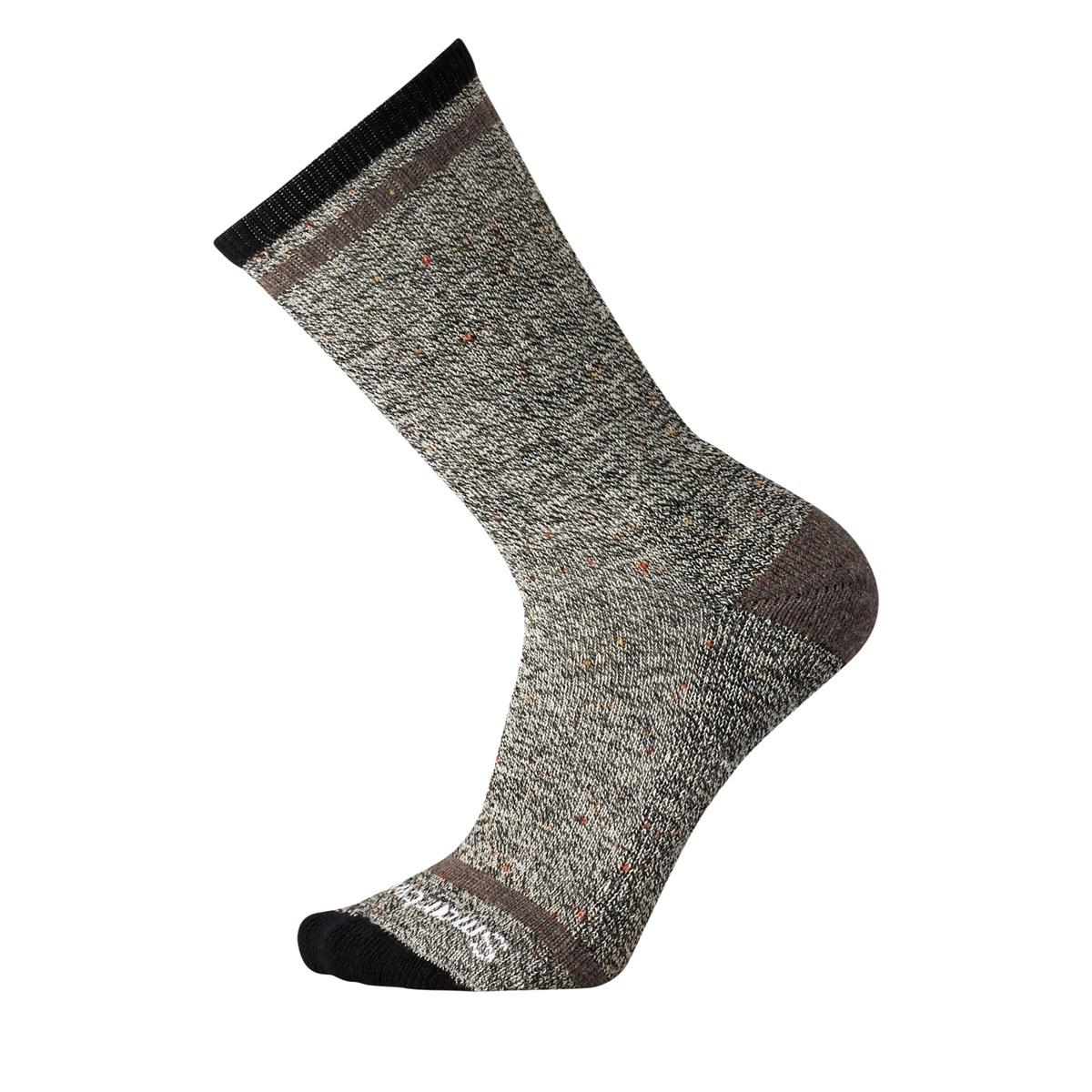 Men's Larimer Crew Socks in Taupe