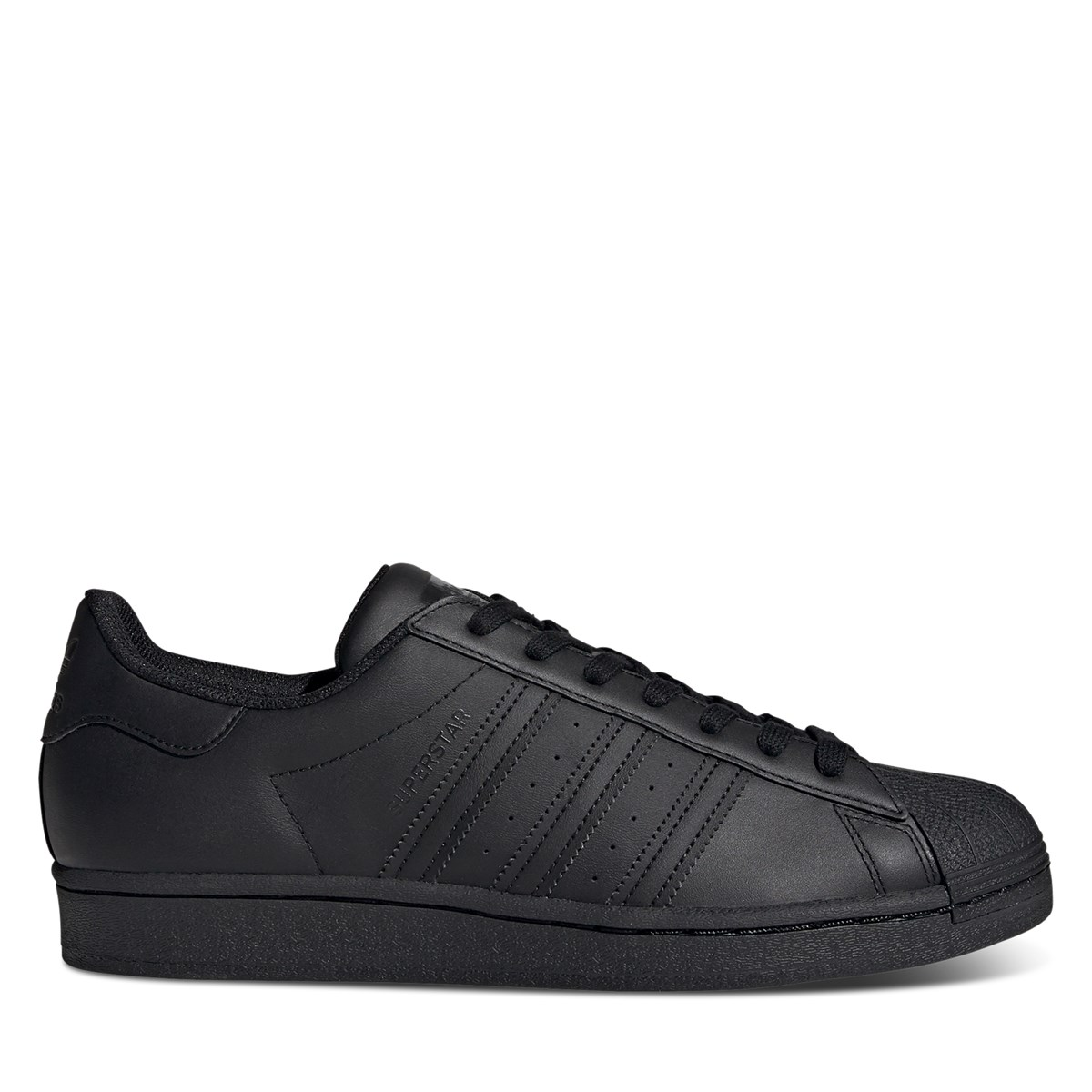 Men's Superstar Sneakers in Black