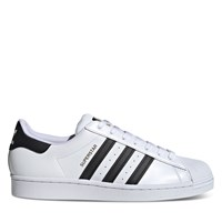 Men's Classic Superstar Sneakers in White/Black