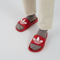 Men's Adilette Lite Slide Sandals in Red