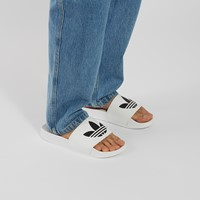 Men's Adilette Lite Slide Sandals in White