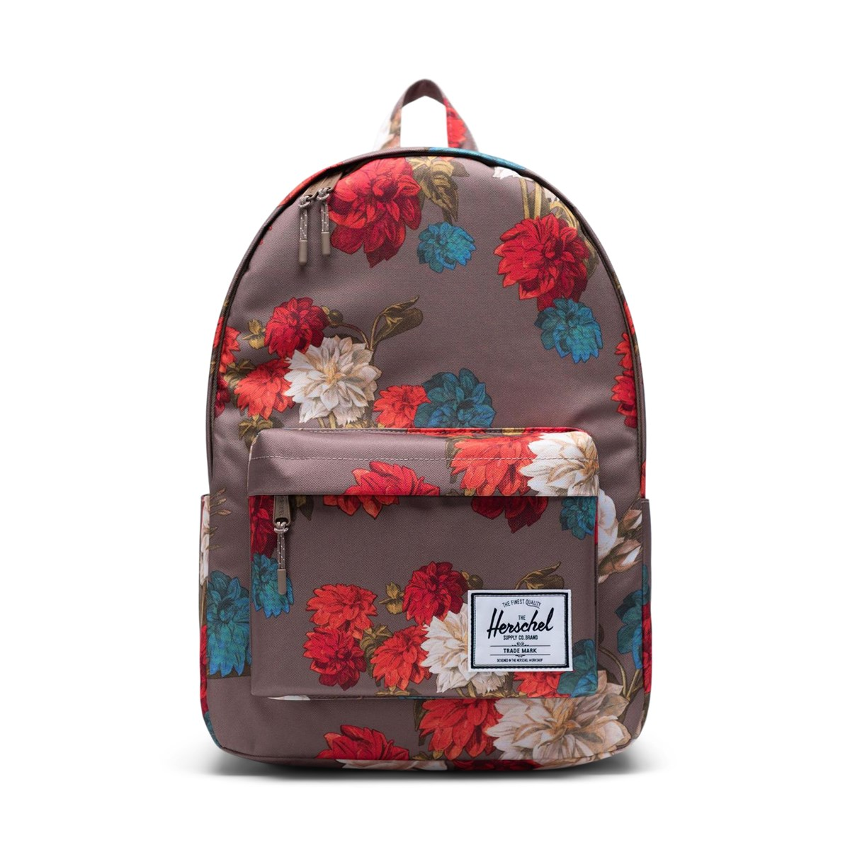 Classic X-Large Backpack in Vintage Floral Pine Bark