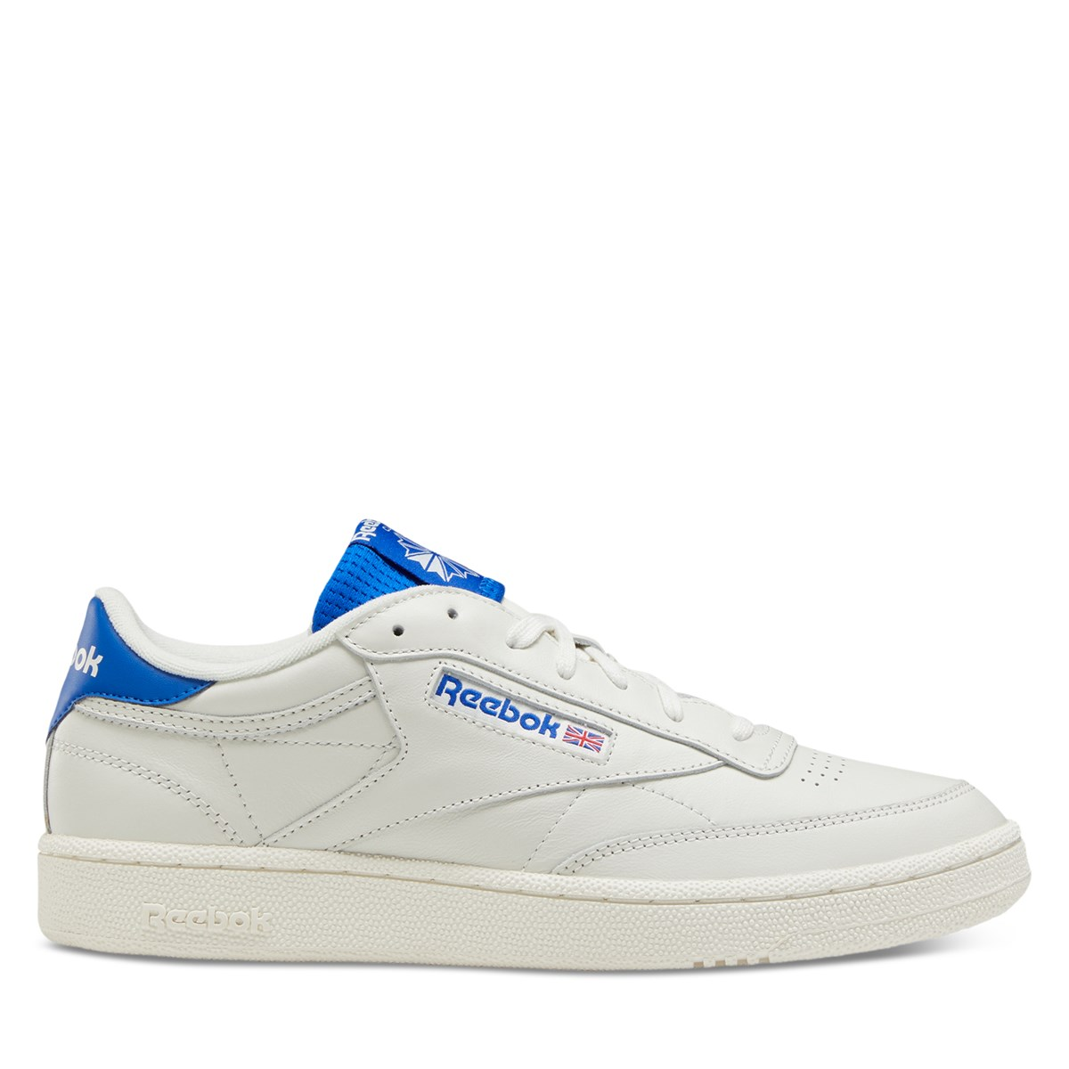 Men's Club C 85 Sneakers in Chalk/Blue