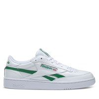 Men's Club C Revenge Sneakers in White/Green