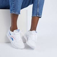 Baskets Classic Leather blanches pour femmes