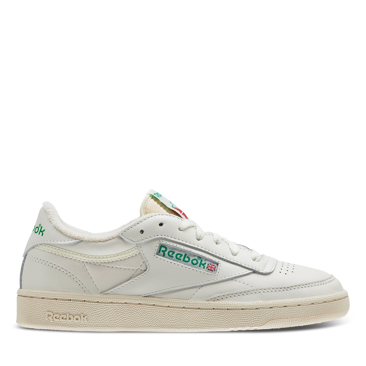 Women's Club C 85 Sneakers in Chalk/Green