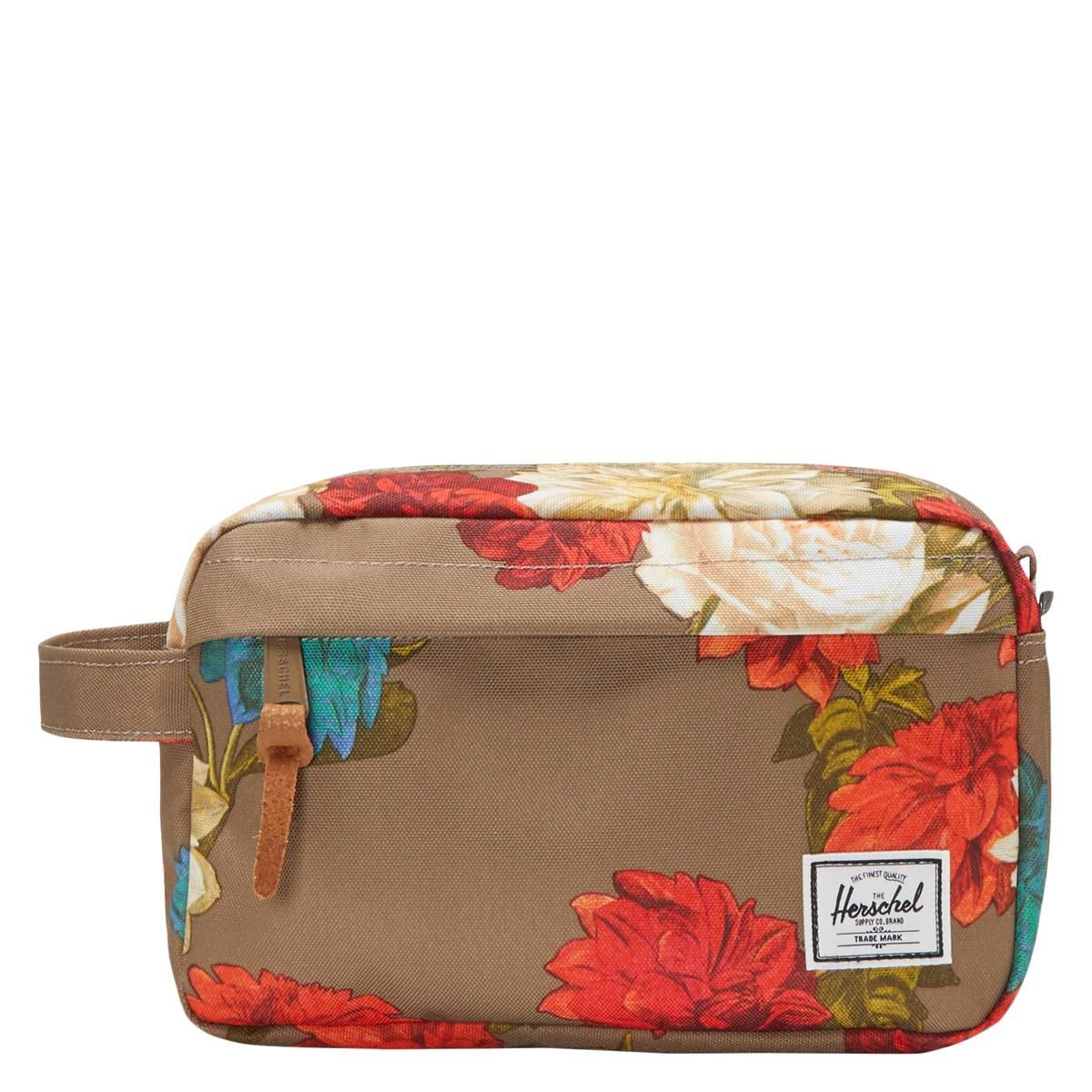 Chapter 5L Toiletry Bag in Vintage Floral Pine Bark