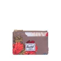Oscar Wallet in Vintage Floral Pine Bark