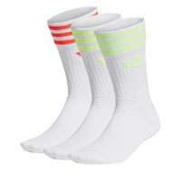3 Pair Pack of Solid Crew Socks