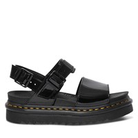 Women's Voss Patent Sandals in Black