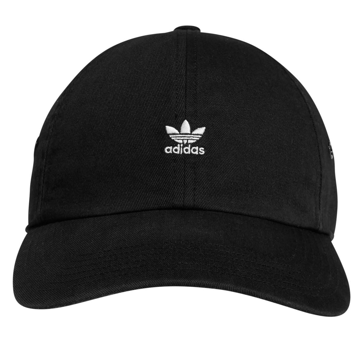 Originals Relaxed Mini Logo Cap in Black