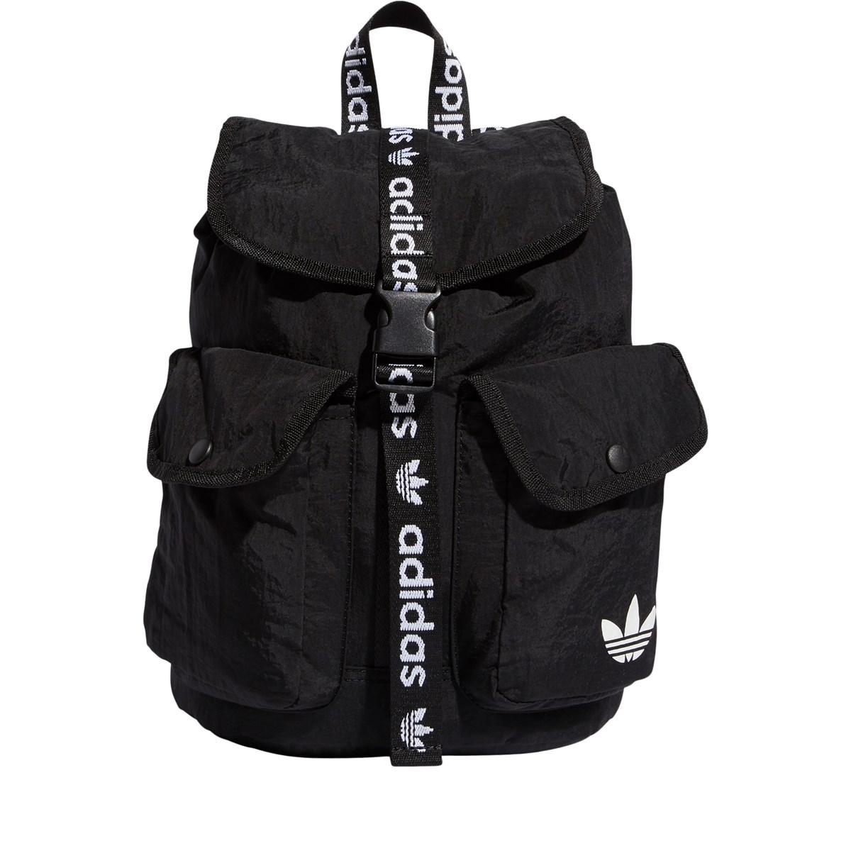 Utility Mini Backpack in Black