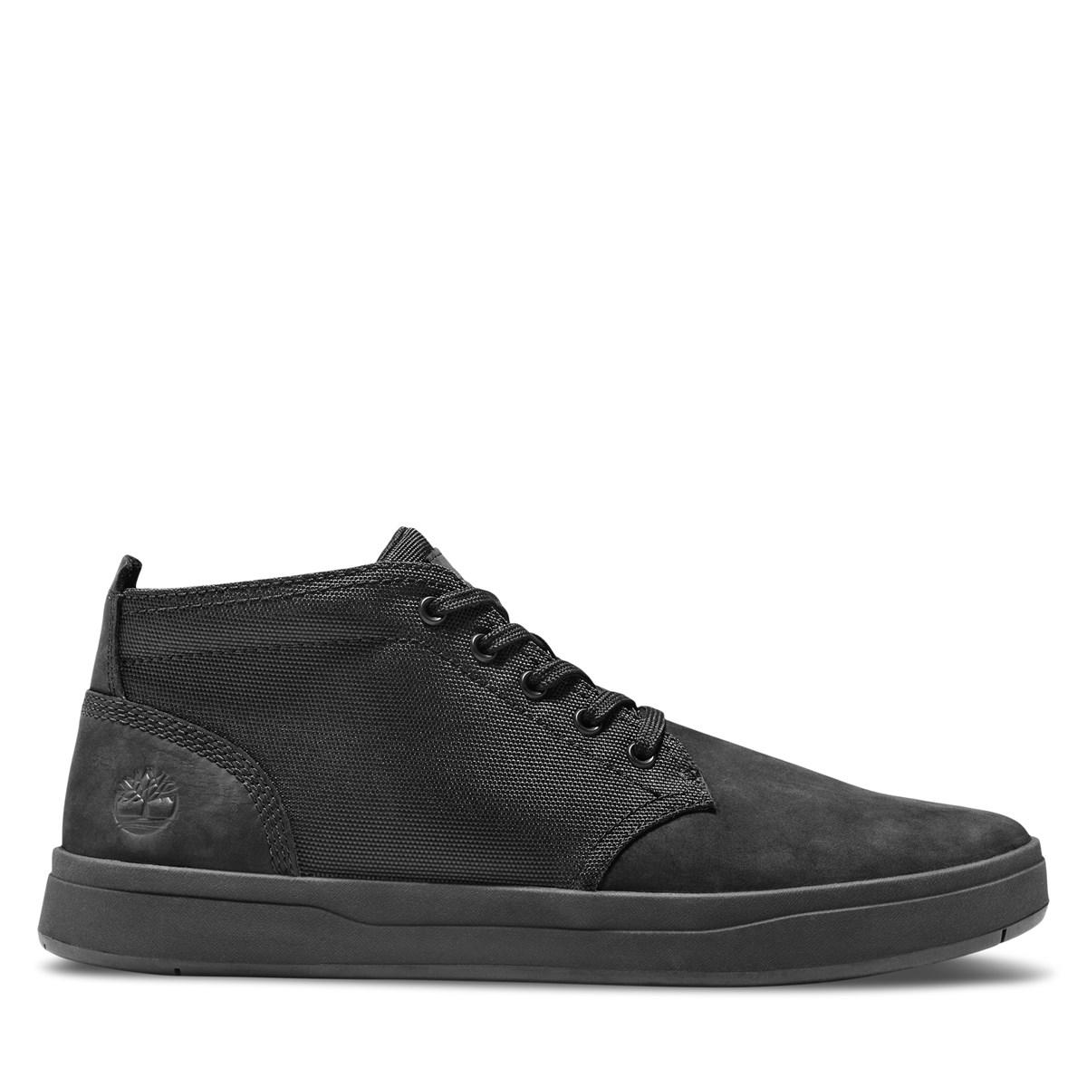 Men's Davis Square Chukka Shoes in Black
