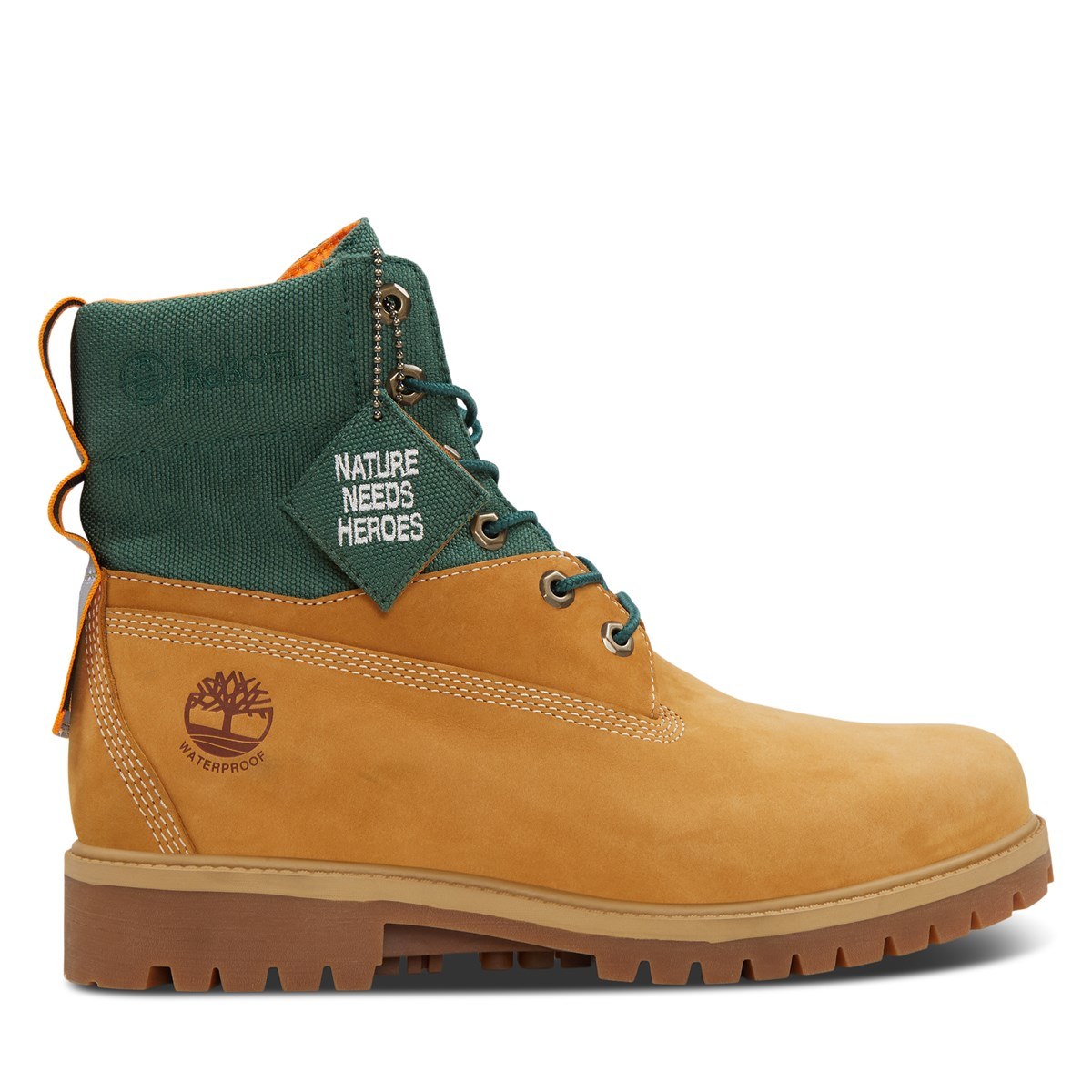Men's 6 Premium REBOTL Waterproof Boots in Wheat