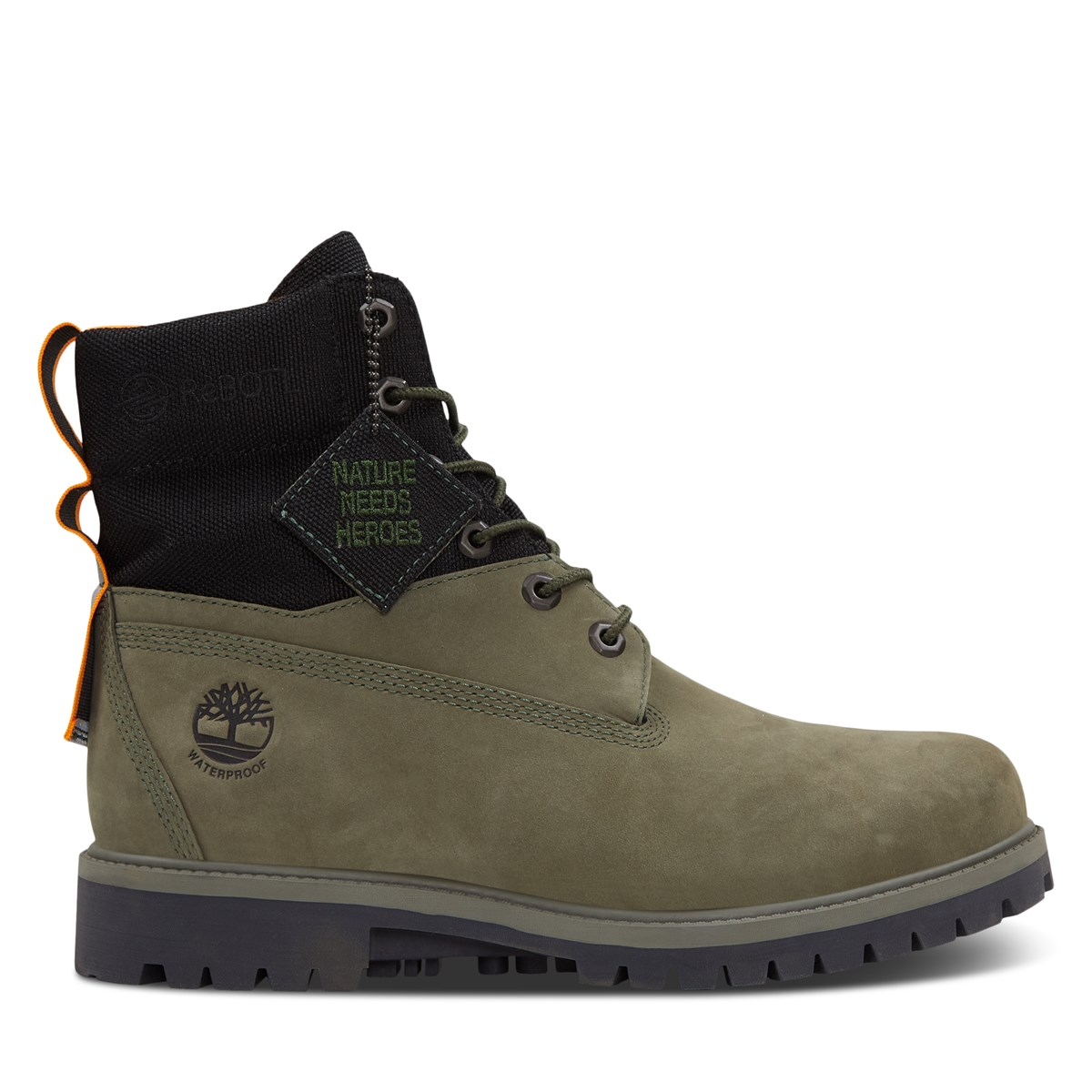 Men's 6 Premium REBOTL Waterproof Boots in Green