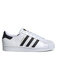 Women's Classic Superstar Sneakers in White/Black