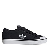 Women's Nizza Trefoil Sneakers in Black