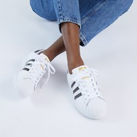 Women's Grammy's Superstar Sneakers in White