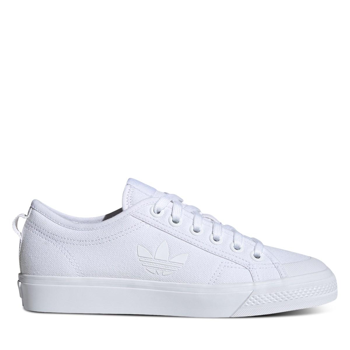 Women's Nizza Trefoil Sneakers in White