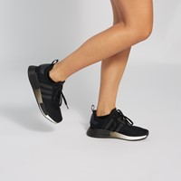 Women's NMD_R1 Sneakers in Black/White