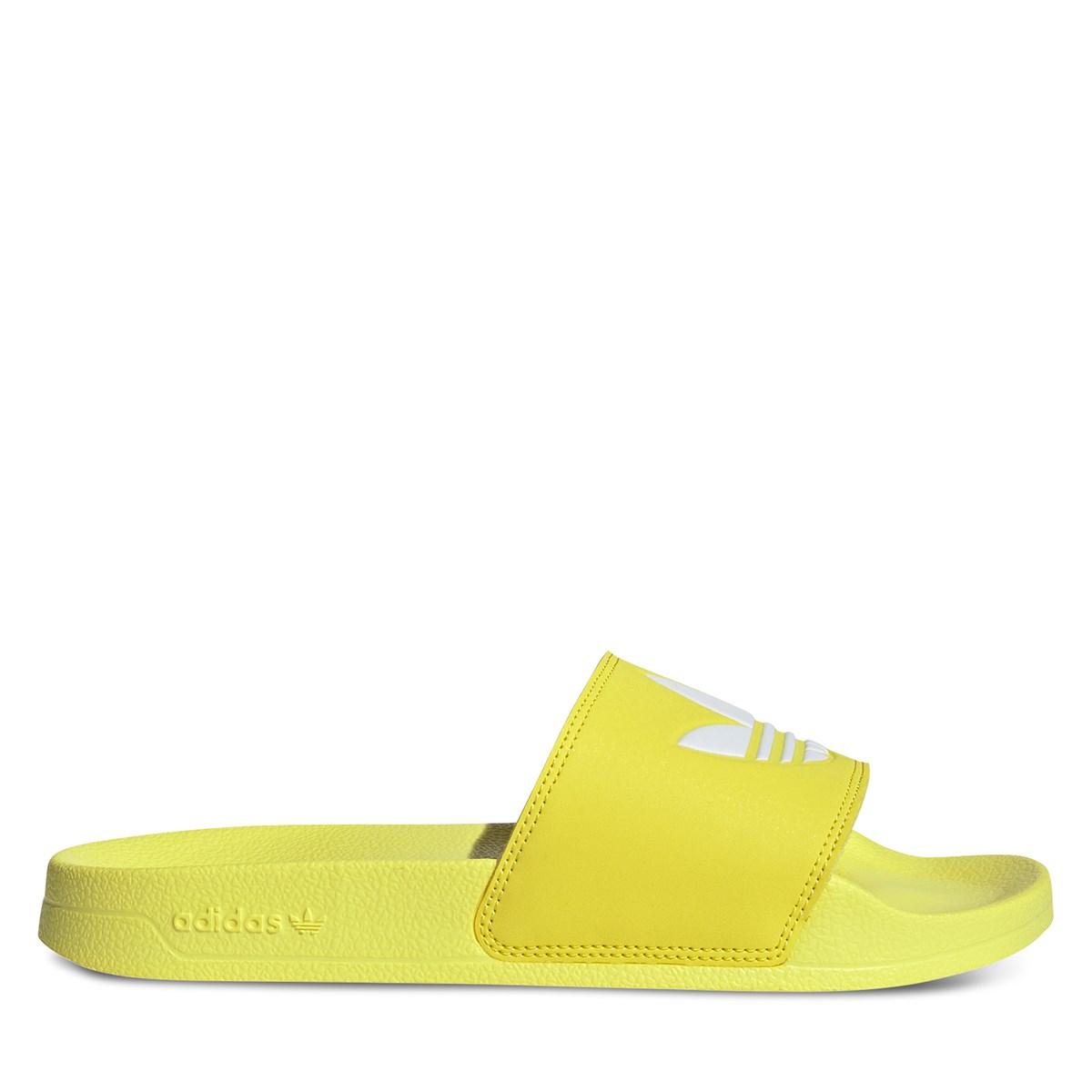 Sandales Adilette jaunes pour femmes
