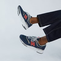Men's 997H Sneakers in Navy Blue