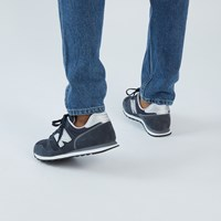 Men's 373 Sneakers in Navy Blue/Silver