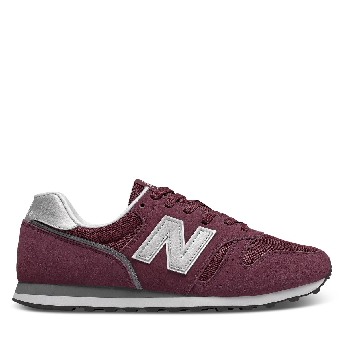 Men's 373 Sneakers in Burgundy